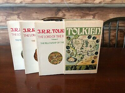 The Lord of the Rings Trilogy by J.R.R. Tolkien - 1975 3-Paperback Box Set