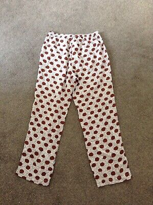Bnwot Girls  H&M Printed Trousers Size 9-10 Years