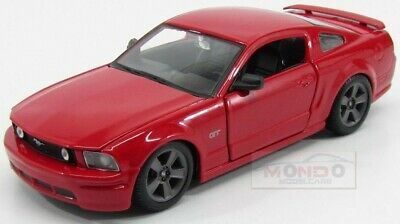 Ford Usa Mustang Gt Coupe 2006 Red Maisto 1:24 MI31997R Miniature
