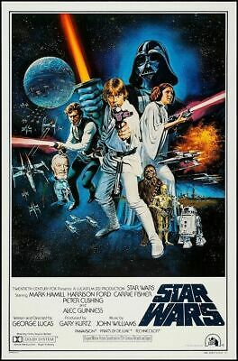 Star Wars - Episode IV New Hope - Classic Movie Poster Size 24x36
