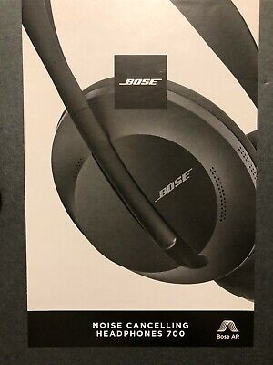 Bose Wireless Noise Cancelling Headphones 700 - Black - New in Box - Retail $399