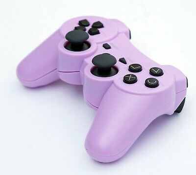 Wireless Remote PS3 Controller Gamepad for use with PlayStation3 Purple