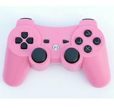 Wireless Remote PS3 Controller Gamepad for use with PlayStation3 Pink