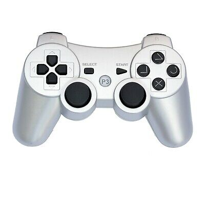 Wireless Remote PS3 Controller Gamepad for use with PlayStation3 Silver