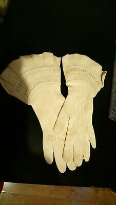 Vintage 1940S Kidskin Ladies Gloves