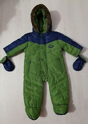 Baby Boys Ted Baker Snowsuit Age 3-6 Months