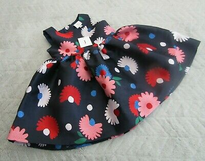 Junior J Jasper Conran Baby Girls 12-18 Months Kids Party Jacquard Dress BNWT