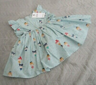 Marks & Spencer Baby Girls 9-12 Months Kids Clothes Fancy Party Dress BNWT