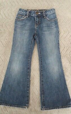 Gap Girls 4-5 Years  Kids Clothes Cotton Denim Wiped Trousers Bottom Jeans