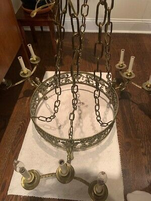ANTIQUE 19th CENTURY FRENCH GOTHIC CHANDELIER