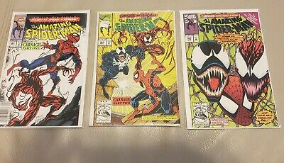 The Amazing Spider-Man #361 362 and 363 (Apr 1992, Marvel)