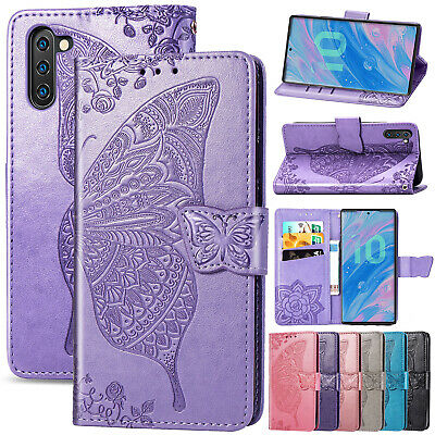 For Samsung Galaxy Note 10 Plus Case Flip Magnetic Leather Wallet Stand Cover