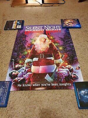 Silent Night, Deadly Night 18x24 Poster Scream Factory EXCLUSIVE RARE MINT