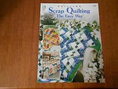 Scrap Quilting, The Easy Way Book 141201, By Ruth Swasey - Good Condition -