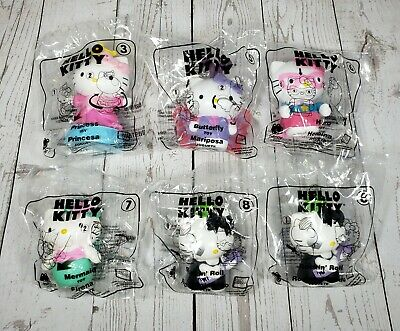 Lot 6 McDonalds 2019 Hello Kitty Toys