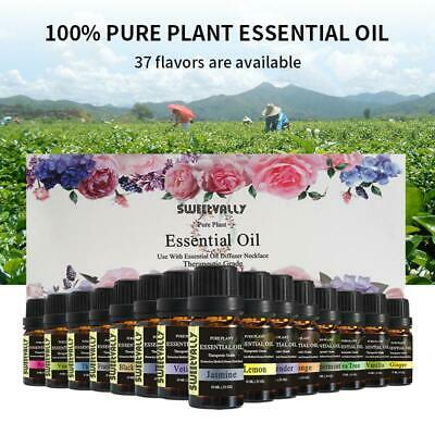 Natural 10ml Essential Oils Pure Aromatherapy Plant Oil Fragrance Aroma Box Set