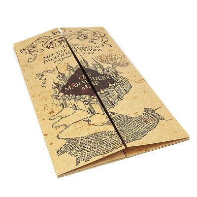 Harry's Map The Marauder's Map Hogwart Acceptance Letter Collection Gift