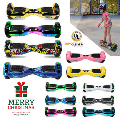 "6.5"" Bluetooth Hoverboard Self Balance Electric Scooter Free Bag Chrismas Gift"