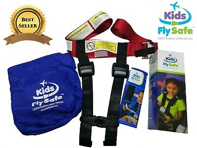 Child Airplane Travel Harness-Cares Safety Restraint System FAA Approved New