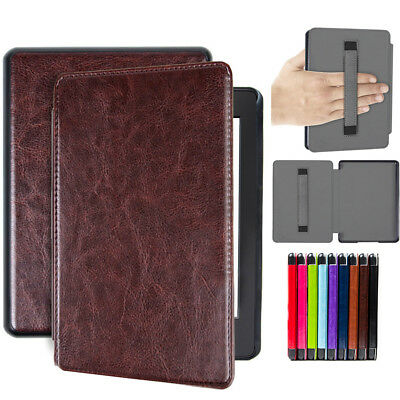 For Amazon Kindle Paperwhite 2018 10th Gen Smart Flip Slim PU Leather Case Cover