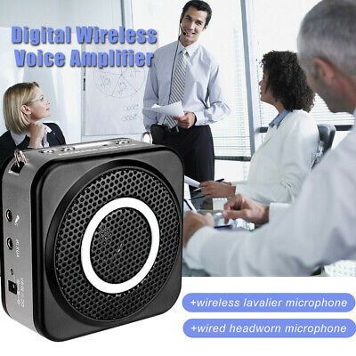 E160W Takstar 2.4G Digital Wireless 12W Lavalier Voice Amplifier Booster Speaker