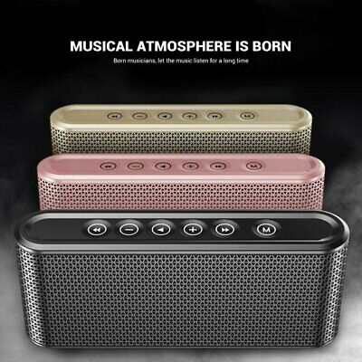 Ultra Loud Bluetooth Portable Wireless Speaker  Stereo Extra Bass Outdoor/Indoor