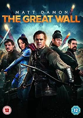 The Great Wall [DVD] [2017], , Very Good, DVD