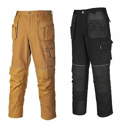 Portwest Tungsten Trousers Pants Holster Workwear Reflective Piping Pockets