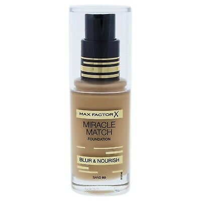 Maxfactor X Miracle Match Blur & Nourish Foundation Sand 60 30Ml
