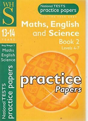 National Tests Practice Papers For The Year 2001 Maths, English And Science Book