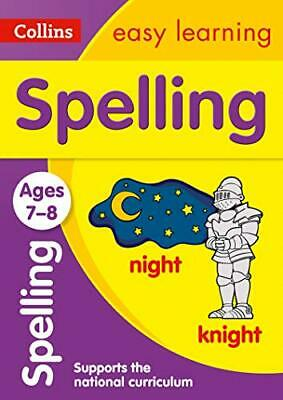 Spelling Ages 7-8: New Edition Coll by Collins Easy Learning New Paperback Book