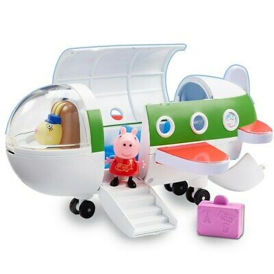 Peppa Pig Aeroplane Air Jet Flying Kids Toy Girls Boys Christmas Present Gift