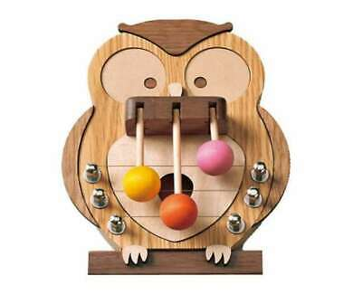 Sasaki Craft Door Melody S Indoor chimes wooden Owl DMM-OW-S from Japan
