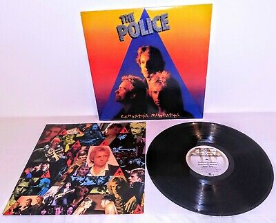 The Police Zenyatta Mondatta Quality Vinyl Album Lp - A&M SP-3720 - 1st 1980