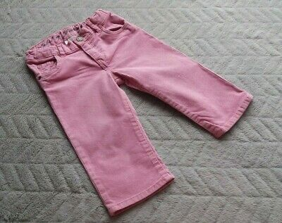 H&M Baby Girls 9-12 Months Kids Clothes Corduroy Pink Bottoms Pants Trousers