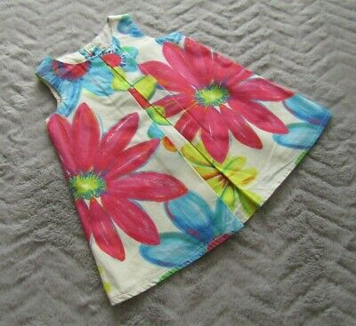 Next Baby Girls 3-6 Months Kids Clothes Sleeveless Floral Party Fancy Dress
