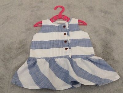 Next Baby Girls 0-3 Months Kids Clothes Party Fancy Outfit Sleeveless Dress