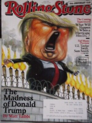 Rolling Stone Magazine October 5 2019 The Madness Of Donald Trump