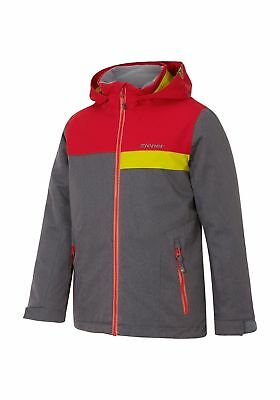 Ziener Bambini Giacca sci Arko tg 140 152 164 176 Blu Rosso Giacca Invernale Giacca