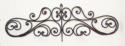 Coat Hangers Hanger Wrought Iron Wall Wall Vintage Design Entrance Ch