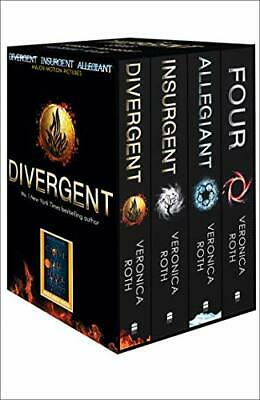 Divergent Series Box Set books 1-4 plus Wor by Veronica Roth New Paperback Book