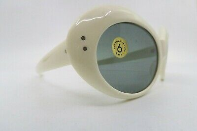 Vintage 60s sunglasses made in Italy grey glass lenses unworn NOS Kirk Cobain