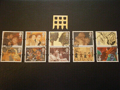 Gb Stamps 1995 Greetings Stamps Greetings In Art - Fine Used
