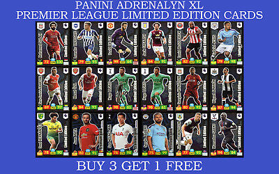 Panini Adrenalyn XL Premier League 2019/20 LIMITED EDITION GOLDEN BALLER CARDS