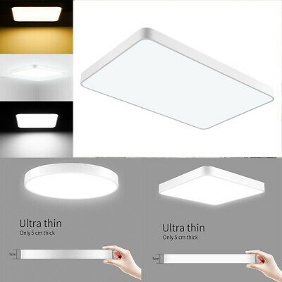 72W 48W 36W 28W 24W 20W Ultra-thin LED Ceiling Light Flush Mount Kitchen Panel
