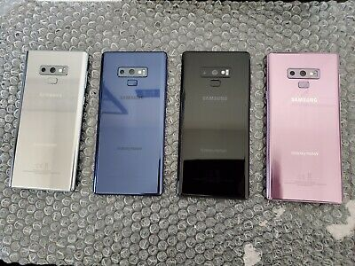 Samsung Galaxy Note 9 N960 128GB GSM Unlocked from Verizon Blue Purple or Black
