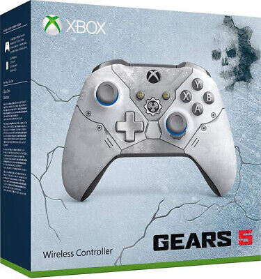 Controller Wireless Xbox One Gears 5 - Kait Diaz Light Grey Microsoft Nuovo Pc