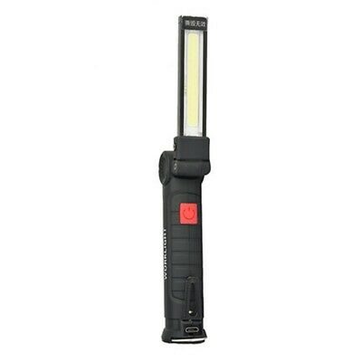 LED COB Rechargeable Magnetic Torch Inspection Cordless Work Lamp Light Flexible