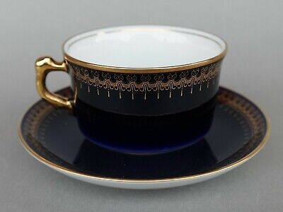 Porzellan Sammeltasse - Collection ROMANOV - Genuine Cobalt - 3