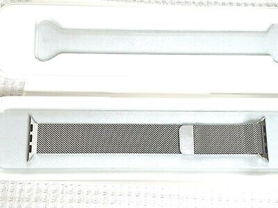 Apple Watch 38mm Silver Milanese Loop Band - MJ5E2ZM/A